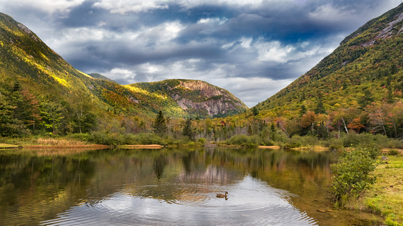 Wiley Pond, Crawford Notch, White Mountains, NH Fall 2017