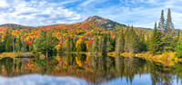 Wildlife Lake Panorama, White Mountains, Fall 2019