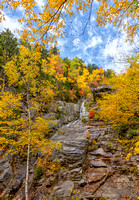 Silver Cascade in Golden Colors, Fall 2019