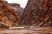 Ready to Hit the Rapids, Colorado River, Grand Canyon