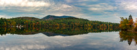 Panarama of Mt. Monadnock and Dublin Lake, Fall 2017