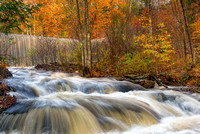 The Dam at Garwin Falls, Fall 2017, Wilton, NH