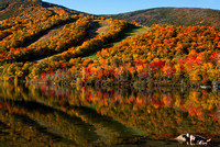 Reflections on Echo Lake, Cannon Mountain, White Mountains, NH